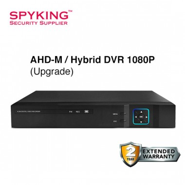 8CH AHD Hybrid 1080P DVR Recorder (Upgrade)