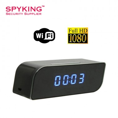 Digital Clock Hidden WIFI 1080P Camera (Night Vision)