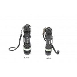 SA-9 Cree 7W Waterproof Tactical Flashlight