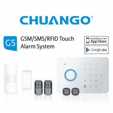 Chuango G5 Alarm System 315Mhz 50 Zones Pacakge